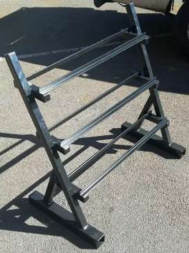 Dummbell rack best quality at the best price. Visit our workshop.