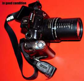 Canon camera in good condition not older than a year
