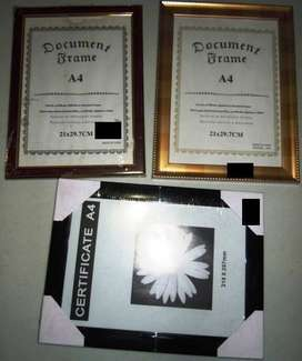 PICTURE FRAMES – A4 SIZE