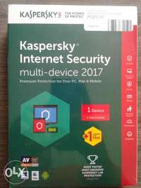 kaspersky Anti Virus 2017 for Computer for sale  South Africa