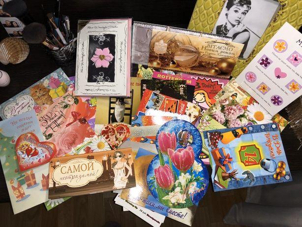 Новенькие открытки. Для денег, с днём рождения, маме, с Новым годом