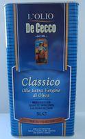 Масло оливковое Classico OlioExtra Virginedi Oliva 5л