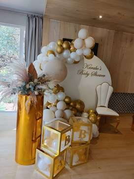 Decor Brothers and Events specialize in party decor and equipment hire