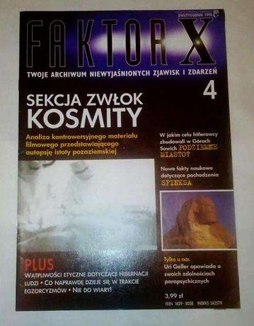 Faktor X - 4 archiwalne numery (1998/99 r.) - zjawiska paranormalne Wołomin - image 4