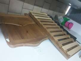Baby wooden cot and bed all in one