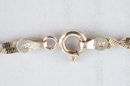 Srebrny łańcuszek z przywieszka