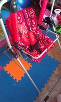 Столик для кормления, Качеля Adbor N1 3в1 Красная