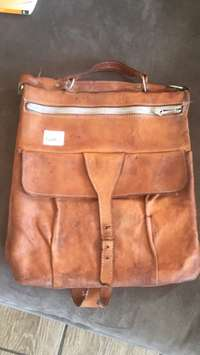 Image of Leather bag for sale