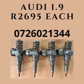 Audi 1.9 diesel injectors - reconditioning services