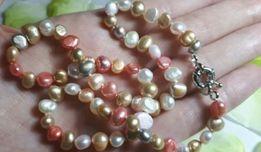 Бусы / ожерелье из натурального речного жемчуга