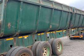 2005 Top Trailer Twin Bin Side Tipper
