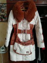 Пуховик,пальто с сумкой+подарок осеннее пальто