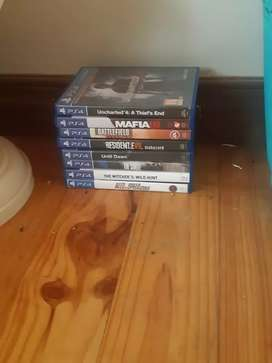 Ps 4 games to swap