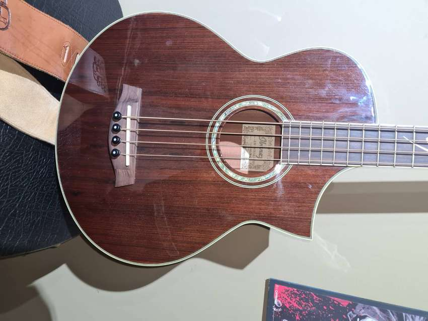 Ibanez electric acoustic bass