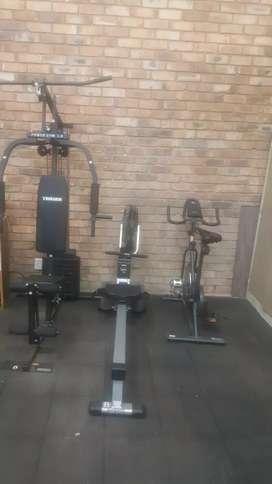 Gym equipment is brand new second hand