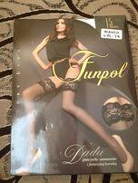 POŃCZOCHY Funpol L/XL/3/4 BIAŁE Tanio !!!