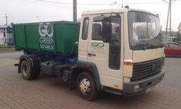 Wywóz śmieci gruzu złomu kontenery kp7 kp5