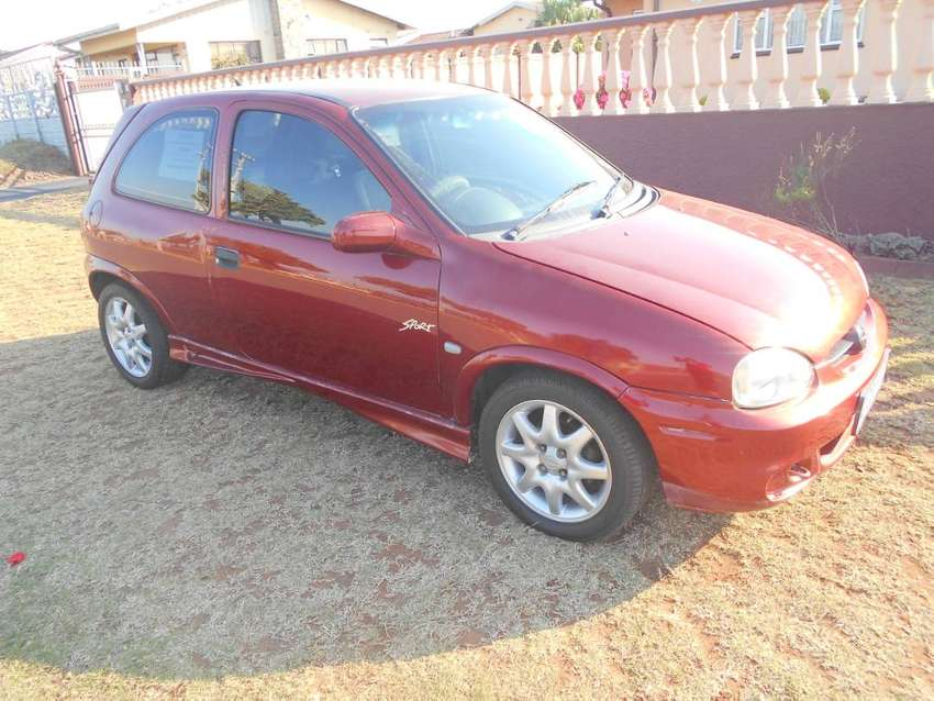 OPEL CORSA 1.4 SPORT -R45K SWOPS OR TRADE-INS CONSIDERED 0
