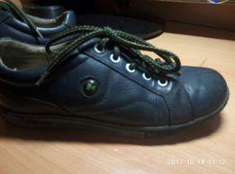 Кожаные туфли -кроссовки