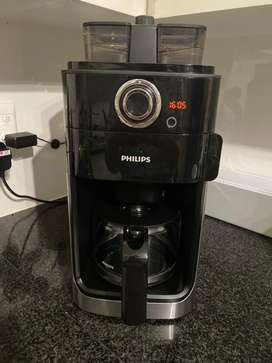 Coffee machine - philips grind and brew