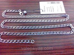 Серебряная цепочка 925 (Мужская цепь)