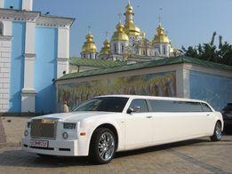 Аренда прокат лимузина на свадьбу от владельца.