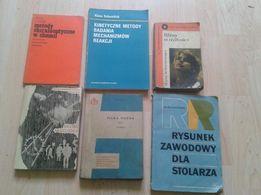 Książki Chemia/ Stolarstwo/ Piłka nożna/ j. angielski