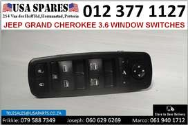 Jeep Grand Cherokee 3.6* 2011-21 window switches for sale