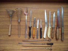 Набор кухонных ножей утвари