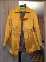 Żółty płaszczyk Orsay 40