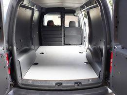 VW Caddy -Zabudowa Furgonów- Podłoga, sklejka 9 lub 12mm