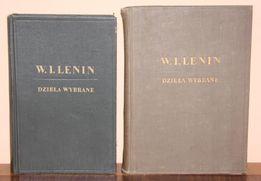 Lenin - Dzieła wybrane - dwa tomy