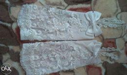 Свадебные рукавички