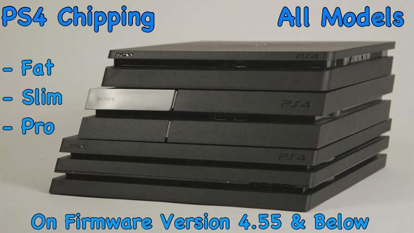 PS4 Chipping All Models Fat Slim And Pro 0