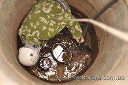 Пропонуємо посуги по чищенню криниць.Баришівський район.