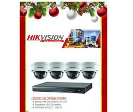 CCTV SYSTEM - ANALOGUE HD 1.3MP 4 channel