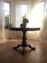Stół rozkładany drewniany hamptons mint