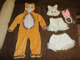 Новогодние костюмы: зайчик, мишка, бычок-баранчик. Прокат!