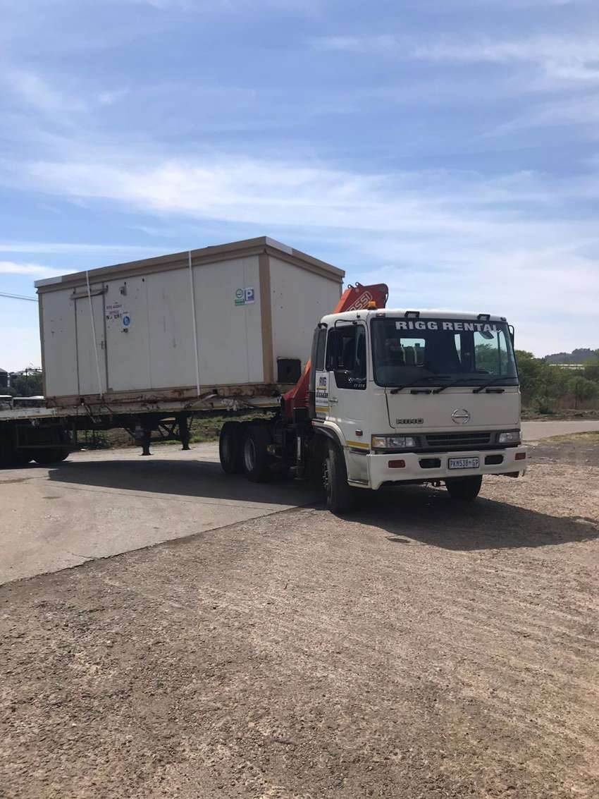 Container Transport - Call Rigg Rental 0