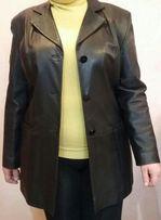 "Куртка-жакет женская кожаная, фирмы "" Roberto Rossini "", Италия"