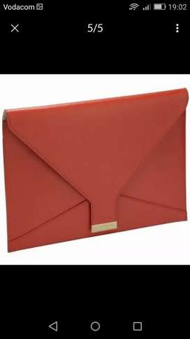 R689@stores(Brand New Sealed) -Genuine Leather Clutch BagFOR MACKBOOK