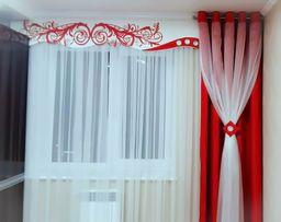Дизайн и пошив штор (гардин, портьер), тюли, ламбрекенов и покрывал