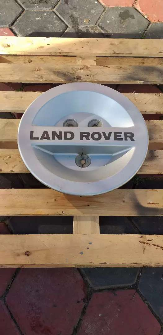 Land rover defender spare wheel cover 0