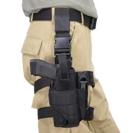 Leg and thigh holster