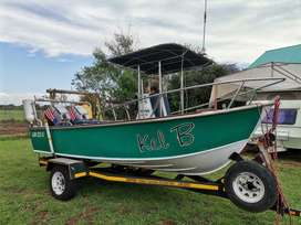 Skivee 16ft fishing boat