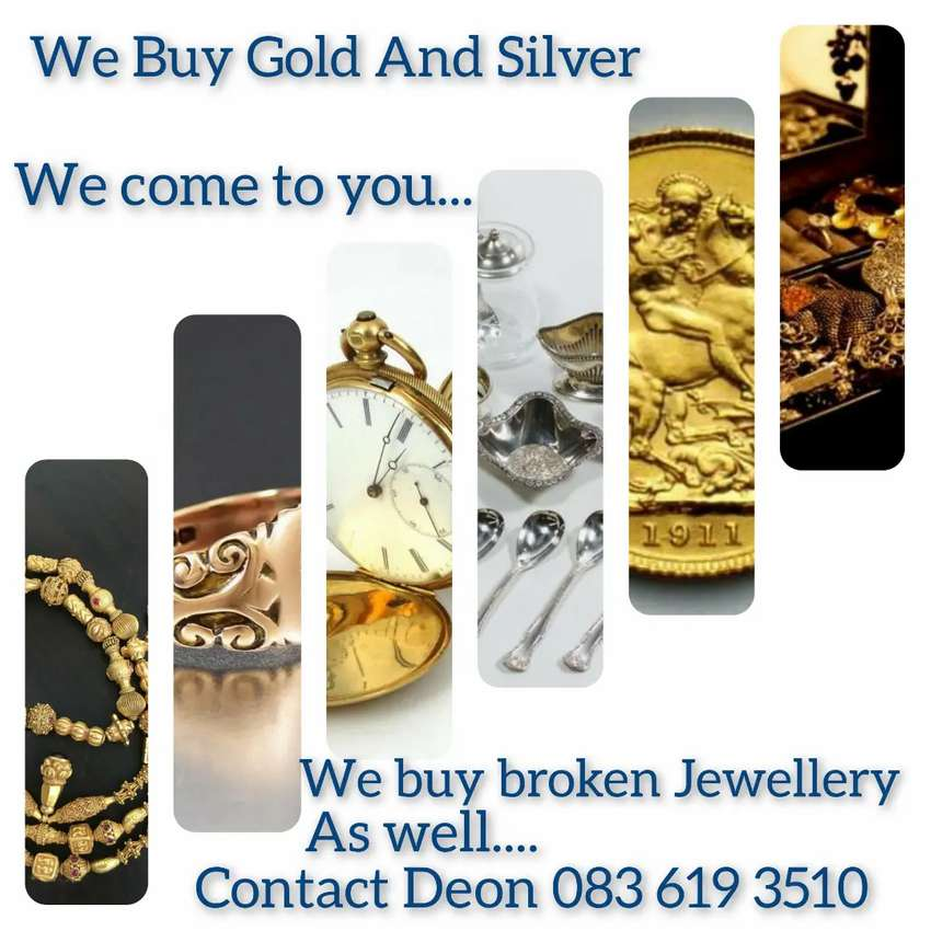 We come to You to Buy your Gold