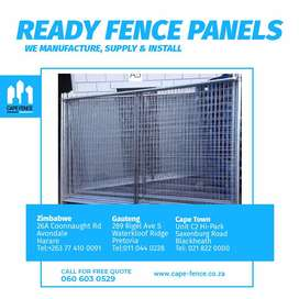 Temporary site fencing | Ready fencing panels