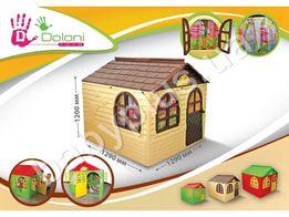 Детский домик игровой со шторками 02550 Doloni, дом