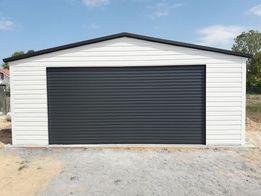 Garaż blaszany dla VIPów na każdy wymiar i kształt. Bramy Roletowe