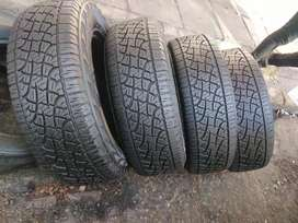 A set of tyres sizes 265/65/17 pirelli normal now available